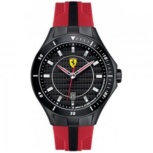 Scuderia Ferrari Men's Ion Plated Steel SF Core Watch 0830080