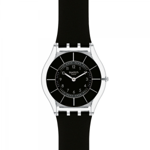 Swatch Unisex Black Classiness Watch SFK361