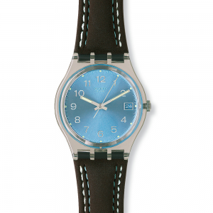 Swatch Unisex Blue Choco Watch GM415