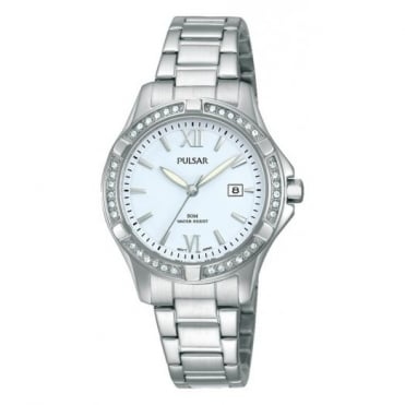 Pulsar Ladies' Stainless Steel Watch PH7409X1