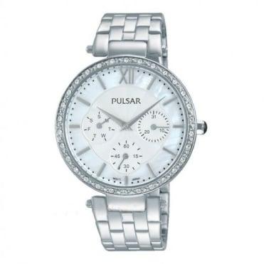 Pulsar Ladies' Stainless Steel Watch PP6211X1