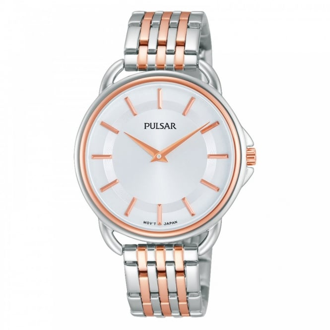 Pulsar Ladies' Two Tone Watch PM2098