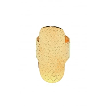 Python Oval, Gold Ring BA-56.G