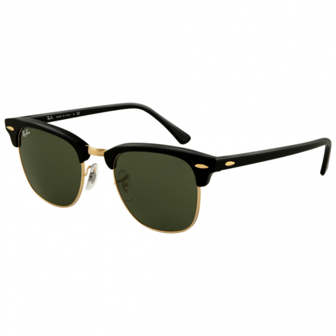 Black Clubmaster Sunglasses RB3016 W0365 51