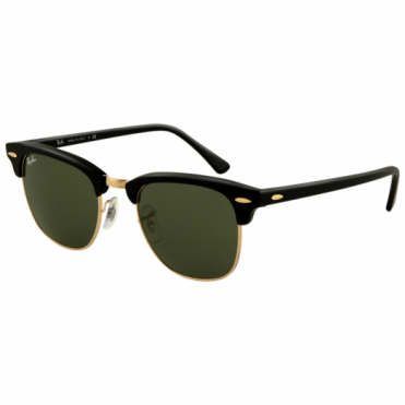 Ray-Ban Black Clubmaster Sunglasses RB3016 W0365 51