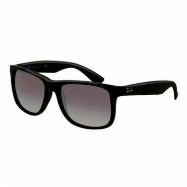 Black Justin Sunglasses RB4165 601/8G 55