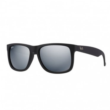 Black Justin Sunglasses RB4165 622/6G 55