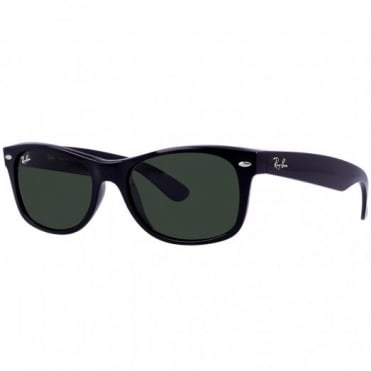 Black New Wayfarer Sunglasses RB2132 901 52