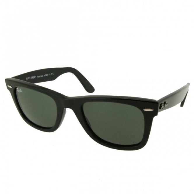 Black Wayfarer Sunglasses RB2140 901 50 - Sunglasses from Hillier ... 358137acec67e