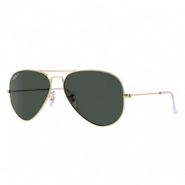 Brown & Gold Aviator RB3025 001/58 58