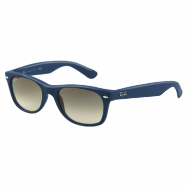 Ray-Ban Dark Blue New Wayfarer Sunglasses RB2132 811/32 55