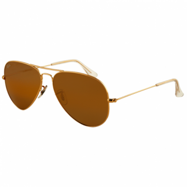 Gold Aviator Sunglasses RB3025 001/33 58