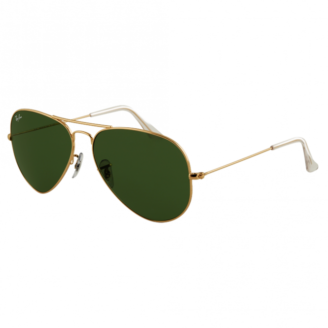 Gold Aviator Sunglasses RB3025 L0205 58