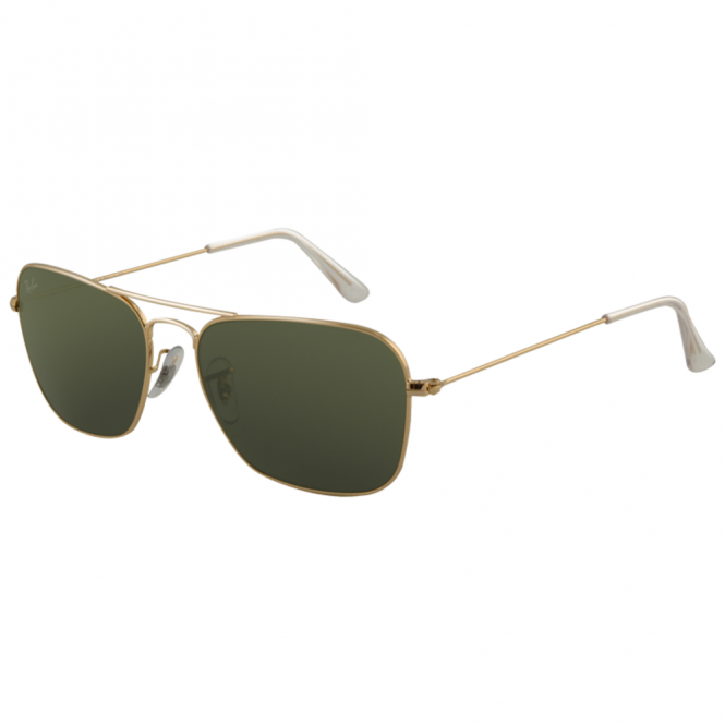 bf21015be1 Gold Caravan Sunglasses RB3136 001 58 - Sunglasses from Hillier ...