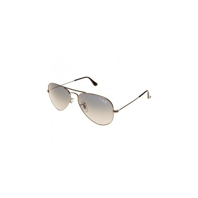 d4e1bd99da Gunmetal Aviator Sunglasses RB3025 004 78 58 - Sunglasses from ...