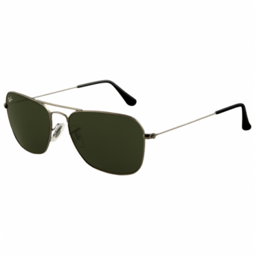 Ray-Ban Gunmetal Caravan Sunglasses RB3136 004 58