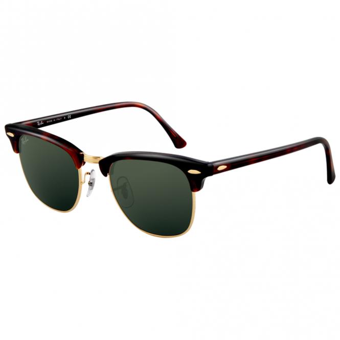 cb30b58e22 Havana Clubmaster Sunglasses RB3016 W0366 51 - Sunglasses from ...