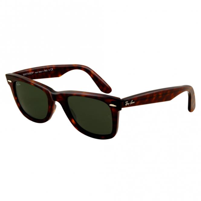 ff14a6129f7d Havana Wayfarer Sunglasses RB2140 902 50 - Sunglasses from Hillier ...