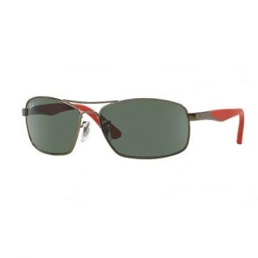 Ray-Ban Junior Green Classic Sunglasses RJ9536S 242/71 54