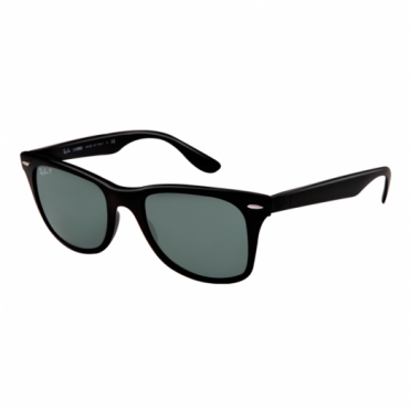 Ray-Ban Matte Black LiteForce Sunglasses RB4195 601S/9A 52
