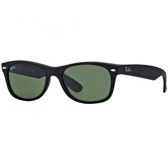 Matte Black New Wayfarer Sunglasses RB2132 622/30 55