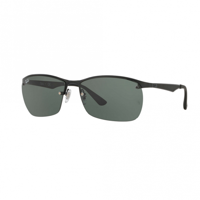 6a4327aa9a Matte Black Sunglasses RB3550 006 71 64 - Sunglasses from Hillier ...
