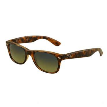Matte Havana New Wayfarer Sunglasses RB2132 894/76 55
