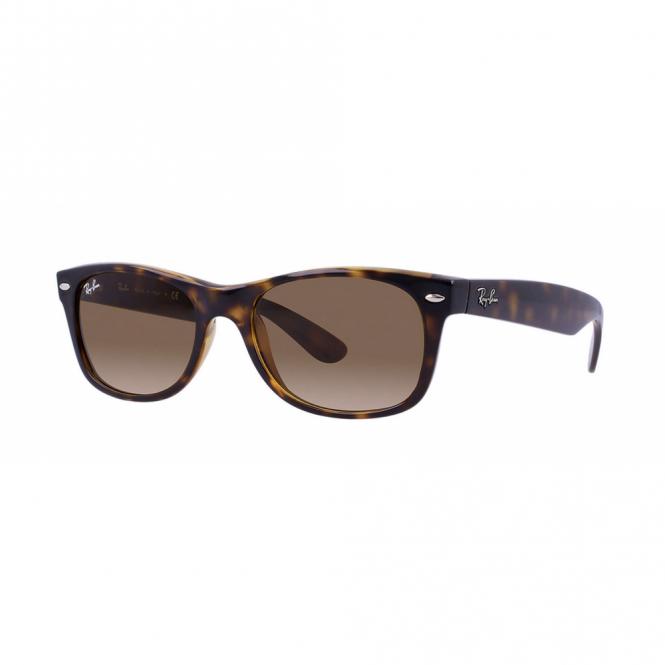 619f3c2d6085f New Wayfarer Light Havana Sunglasses RB2132 710 51 55 - Sunglasses ...