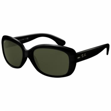 Ray-Ban Polished Black Jackie Ohh Sunglasses RB4101 601 58