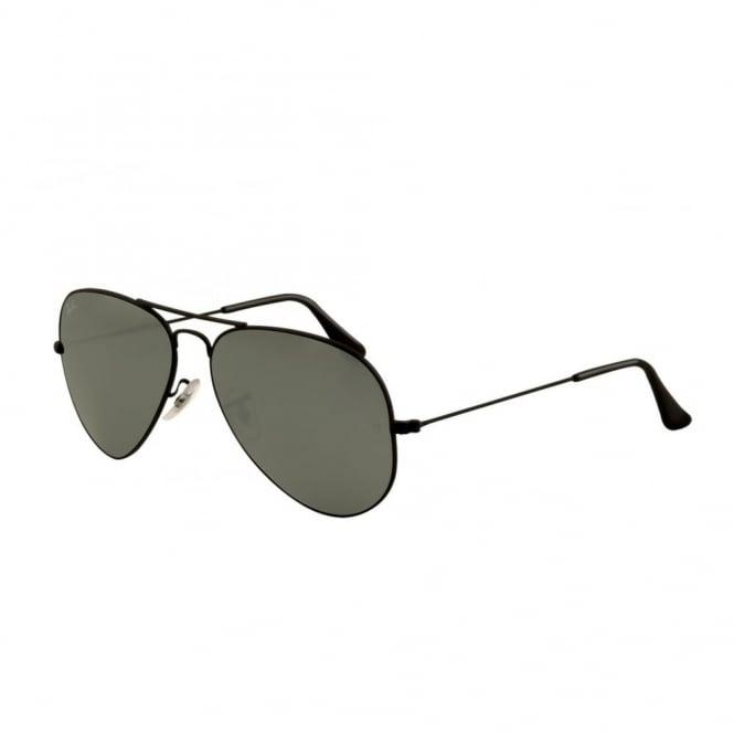 7e3b311e41a Silver Mirror Aviator Sunglasses RB3025 002 40 55 - Sunglasses from ...
