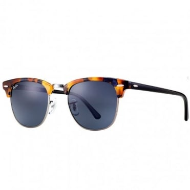 Tortoise Clubmaster Fleck Sunglasses RB3016 1158R5 51