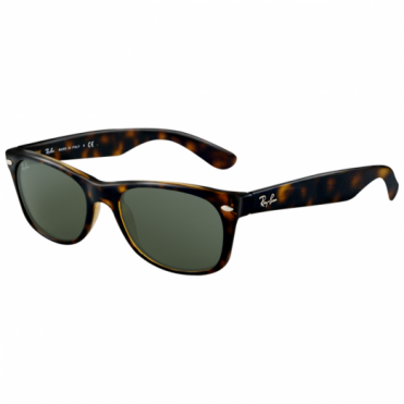 Ray-Ban Tortoise New Wayfarer Sunglasses RB2132 902L 55
