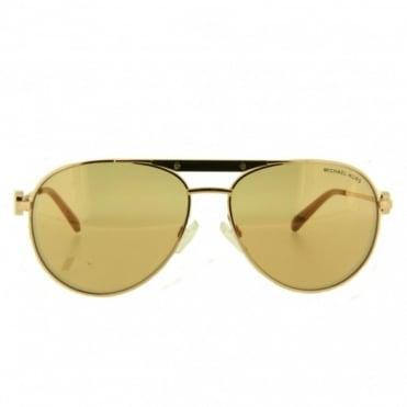 Michael Kors Rose Gold Sunglasses MK5001 1003R1