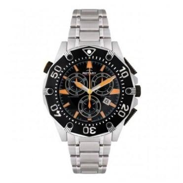 Rotary Gents S/Steel Aquaspeed Chronograph Watch AGB90036/C/04