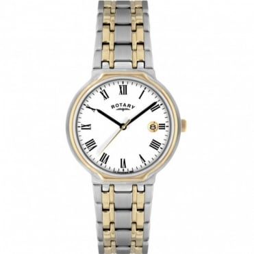 Rotary Gents Two Tone Watch GB00231/01