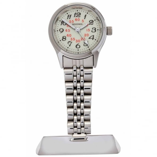 S/Steel Nurse Fob Watch 4218