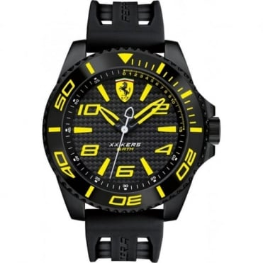 Scuderia Ferrari Men's Black Rubber XX Kers Watch 0830307