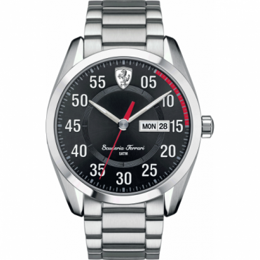 Scuderia Ferrari Men's S/Steel D50 Chronograph Watch 0830180