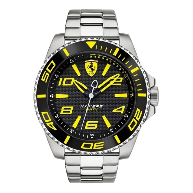 Scuderia Ferrari Men's Stainless Steel XX Kers Watch 0830330