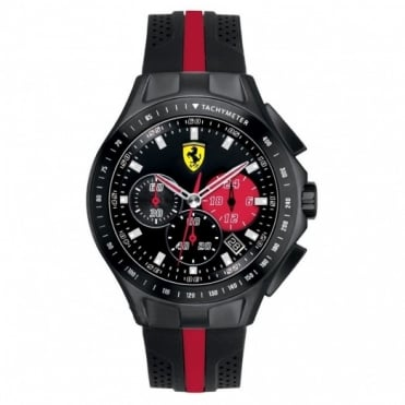 Scuderia Ferrari Men's Textures Of Racing Chronograph Watch 0830023