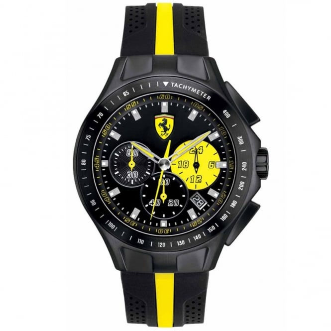 Scuderia Ferrari Men's Textures Of Racing Chronograph Watch 0830025