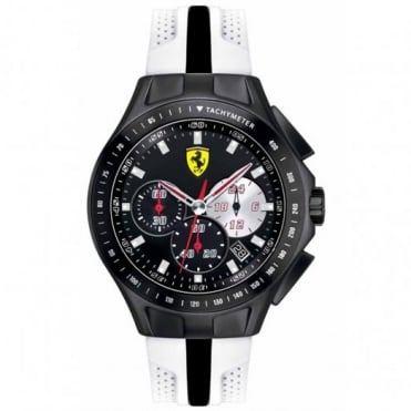 Scuderia Ferrari Men's Textures Of Racing Chronograph Watch 0830026