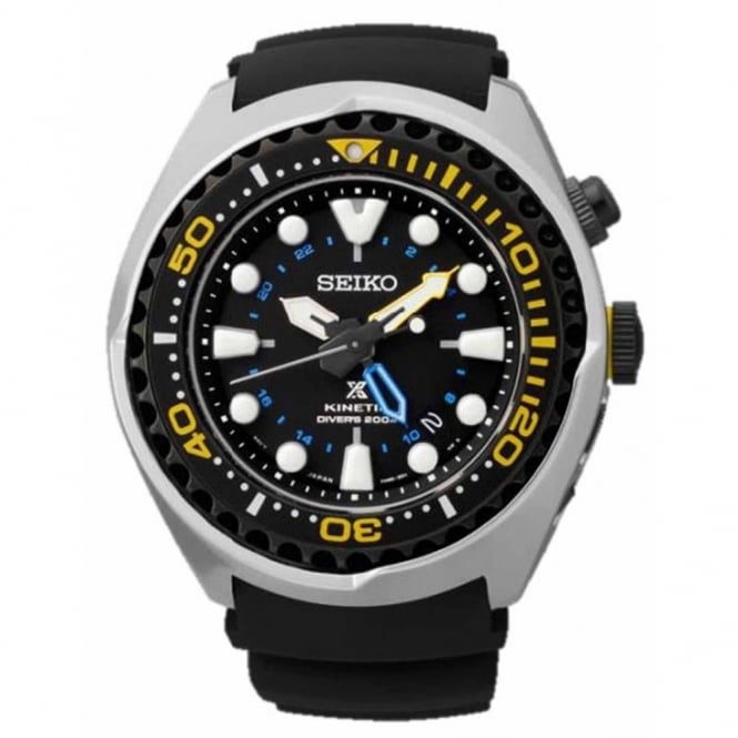 Gent's Prospex Kinetic GMT Watch SUN021P1