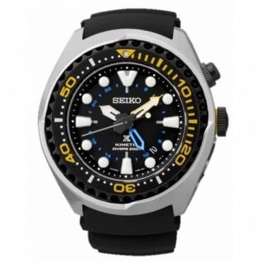Seiko Gent's Prospex Kinetic GMT Watch SUN021P1