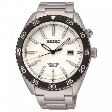 Seiko Gent's S/Steel Kinetic Watch SKA615P1