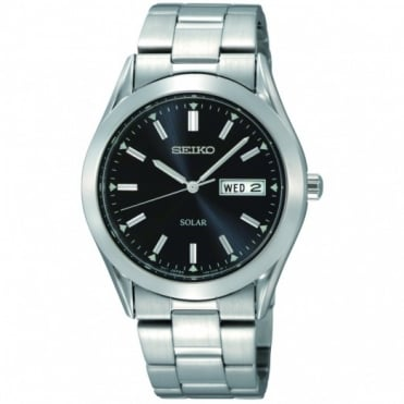 Seiko Gents S/Steel Solar Watch SNE039P1