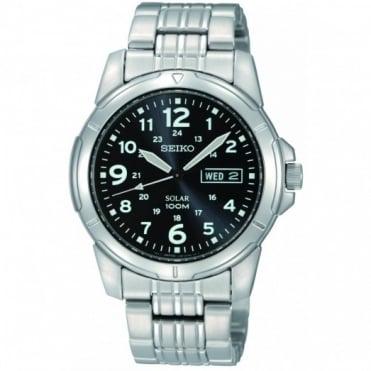 Seiko Gent's S/Steel Solar Watch SNE095P1
