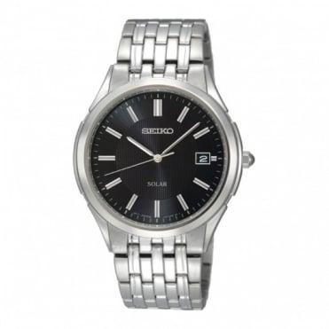 Seiko Gent's S/Steel Solar Watch SNE127P1
