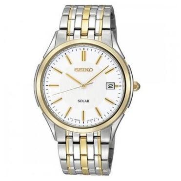 Seiko Gent's S/Steel Solar Watch SNE136P1