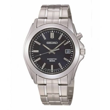 Seiko Gent's Stainless Steel Kinetic Watch SKA267P1